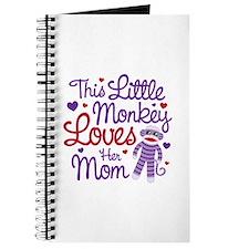 Monkey Loves Mom Journal
