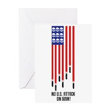 Don't Attack Iran! Greeting Card