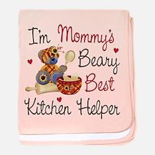 Mom's Kitchen Helper baby blanket