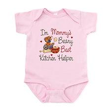 Mom's Kitchen Helper Infant Bodysuit