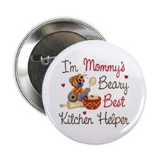 "Mom's Kitchen Helper 2.25"" Button (100 pack)"