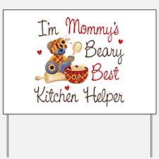 Mom's Kitchen Helper Yard Sign