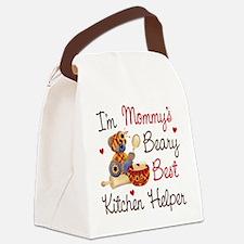Mom's Kitchen Helper Canvas Lunch Bag