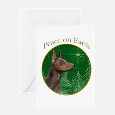 Dobie Peace Greeting Card