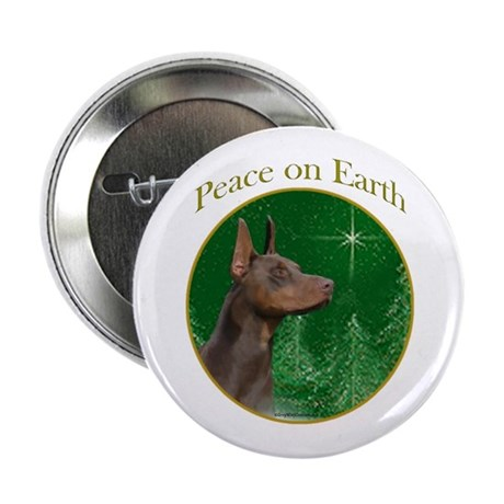 Dobie Peace Button