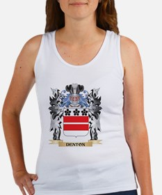 Denton Coat of Arms - Family Crest Tank Top