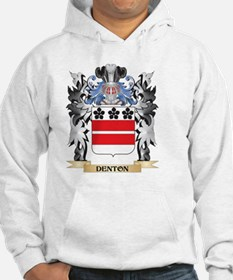 Denton Coat of Arms - Family Cre Hoodie