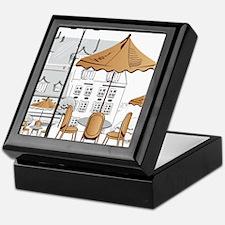 Coffee Shop Keepsake Box