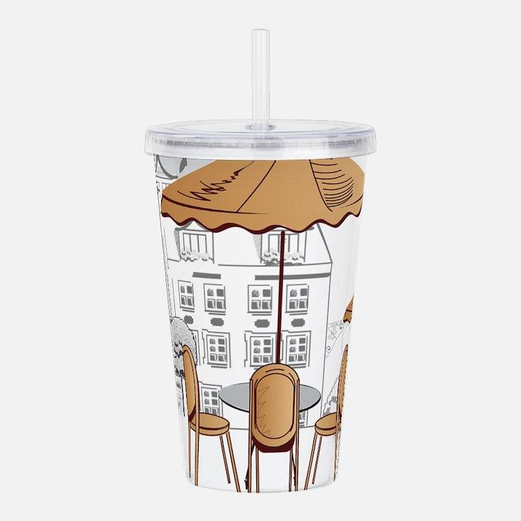 Coffee Shop Acrylic Double-wall Tumbler