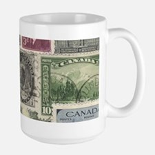 Old Canadian Stamps Mugs