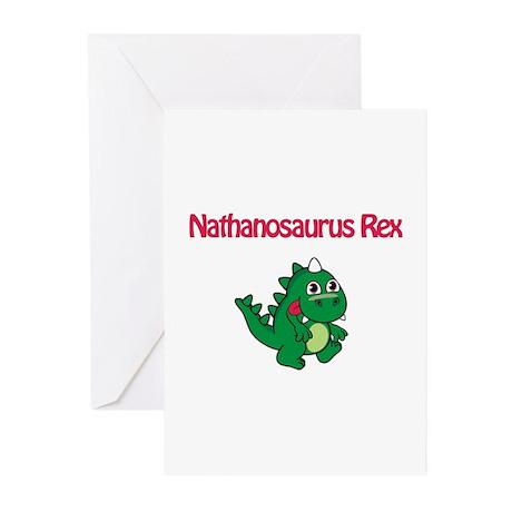 Nathanosaurus Rex Greeting Cards (Pk of 10)