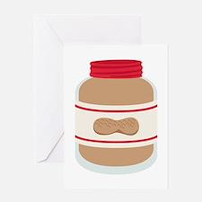 Peanut Butter Jar Greeting Cards