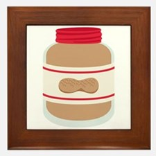 Peanut Butter Jar Framed Tile