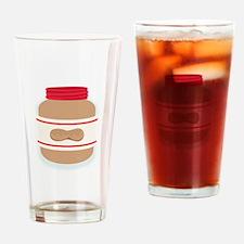 Peanut Butter Jar Drinking Glass