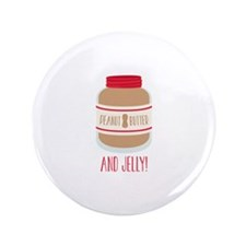 """Peanut Butter & Jelly 3.5"""" Button (100 pack)"""