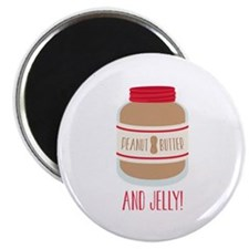 Peanut Butter & Jelly Magnets