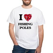 I love Fishing Poles T-Shirt