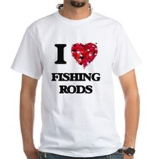 I love Fishing Rods T-Shirt