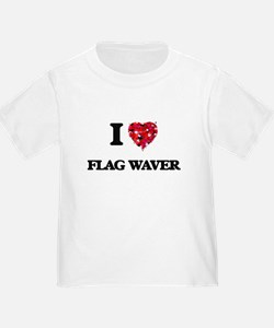 I love Flag Waver T-Shirt