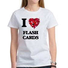 I love Flash Cards T-Shirt