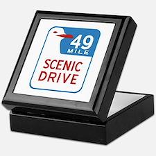 49-Mile Scenic Drive, San Francisco, Keepsake Box