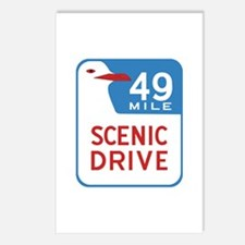 49-Mile Scenic Drive, San Postcards (Package of 8)