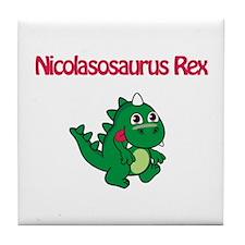 Nicolasosaurus Rex Tile Coaster