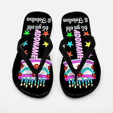 65th Party Flip Flops