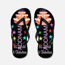 Fabulous 65th Flip Flops