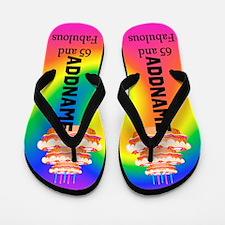 Charming 65th Flip Flops