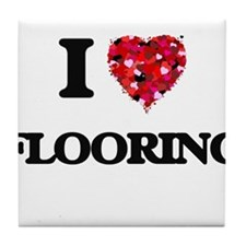 I love Flooring Tile Coaster