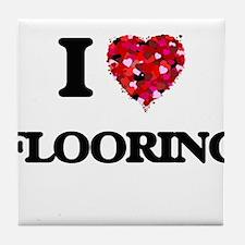 I love Flooring Tile Coaster