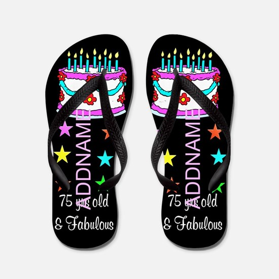 Happy 75th Flip Flops