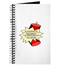 4th of July - Blow The Hell Out Of Me Journal