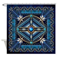Native American Style Tapestry 3 Shower Curtain