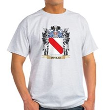 Deville Coat of Arms - Family Crest T-Shirt