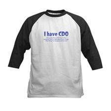 I Have CDO Baseball Jersey