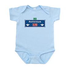 Rotterdam Roadmarker (NL) Infant Bodysuit