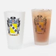 Devos Coat of Arms - Family Crest Drinking Glass
