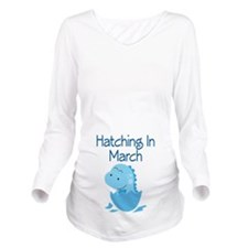 Hatching In March boy Long Sleeve Maternity T-Shir