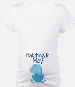 Hatching In May baby boy Shirt