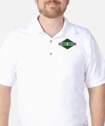 Illinois Central - Small Image Golf Shirt
