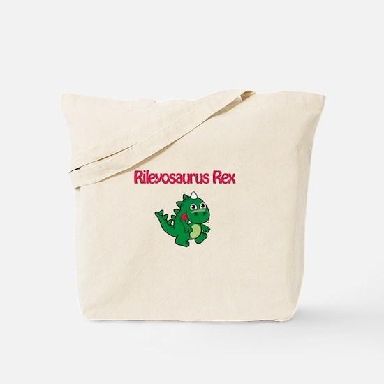 Rileyosaurus Rex Tote Bag