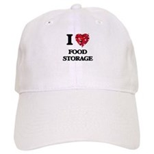 I love Food Storage Baseball Cap