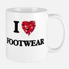 I love Footwear Mugs