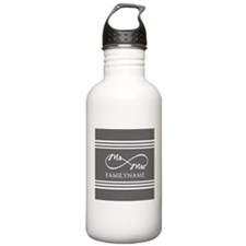 Mr. Mrs. Infinity Gra Water Bottle