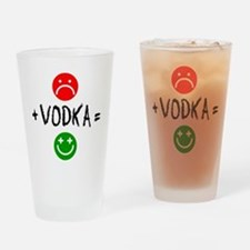 Plus Vodka Happy Drinkware Drinking Glass