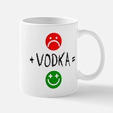 Plus Vodka Happy Drinkware Mugs