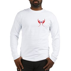 Square and Red Dragons Long Sleeve T-Shirt