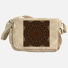 tooled leather western country  Messenger Bag